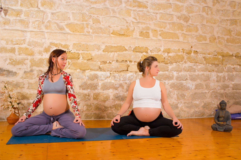 Фото занятия с беременными