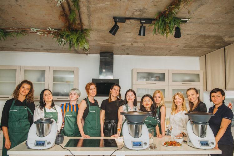 Как прошел Mama Cooking Day с Thermomix в Vlasna Kuhnya?