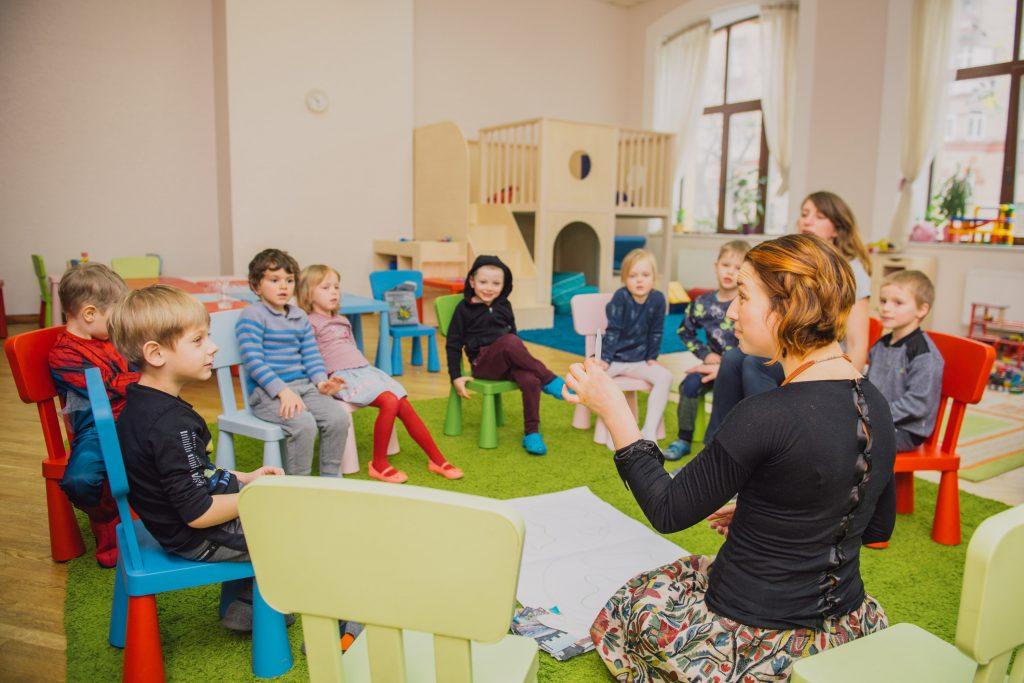 Мамаслет тестирует день открытых дверей в детском немецком саду KiTa