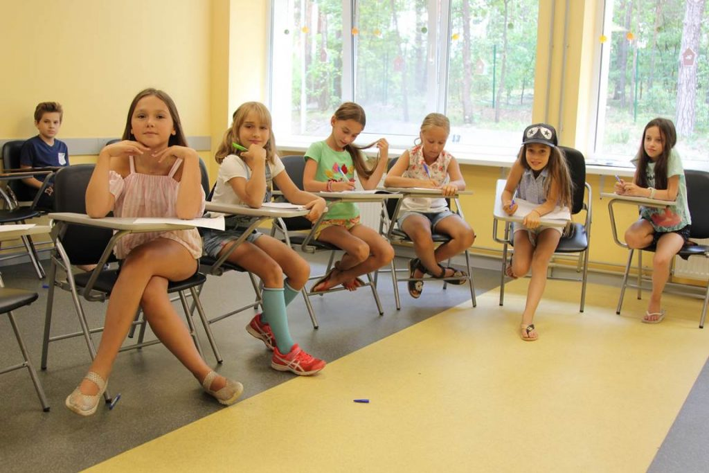 Детские лагеря под Киевом