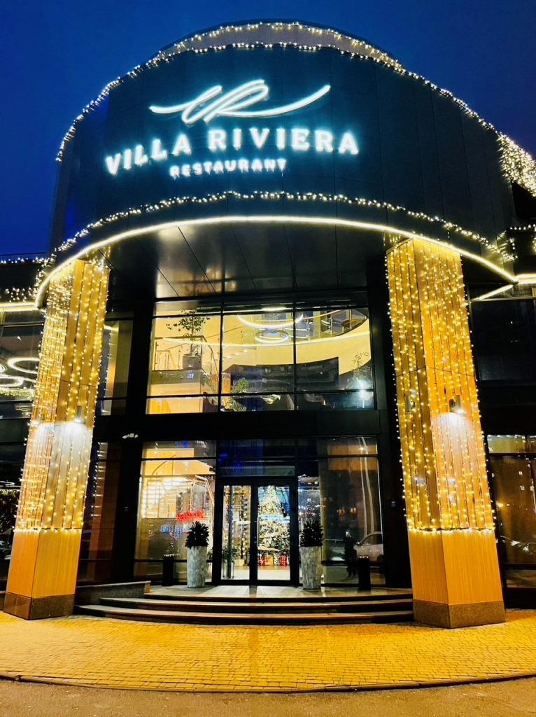 Villa Riviera — сімейний ресторан з великою дитячою кімнатою