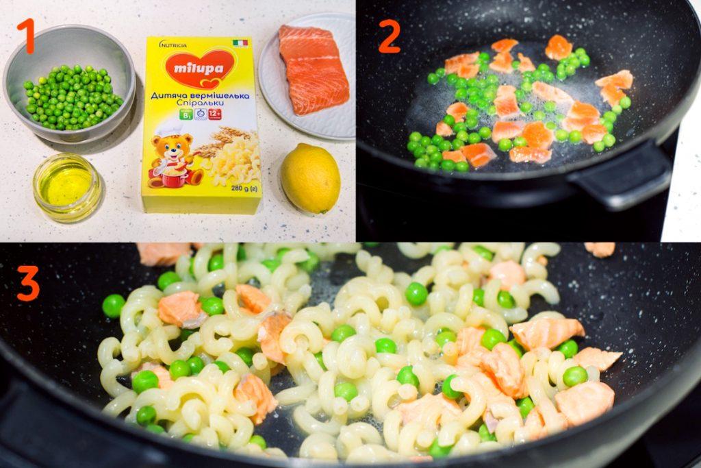 5 простых рецептов с вермишелькой Milupa для детей в возрасте от 10+ (12+) месяцев