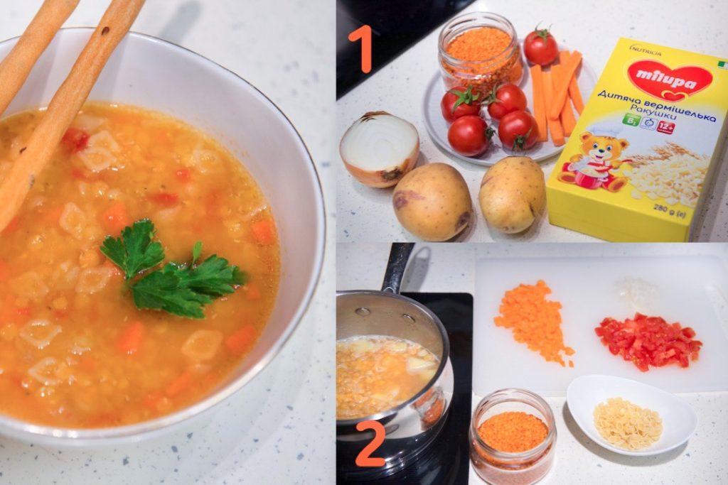 5 здоровых рецептов с вермишелькой Milupa для детей в возрасте от 10+ (12+) месяцев